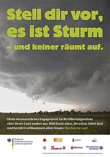Stell dir vor, es ist Sturm - und keiner räumt auf.