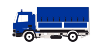 Lastkraftwagen 7 t mit Ladebordwand (LKW 7 Lbw)